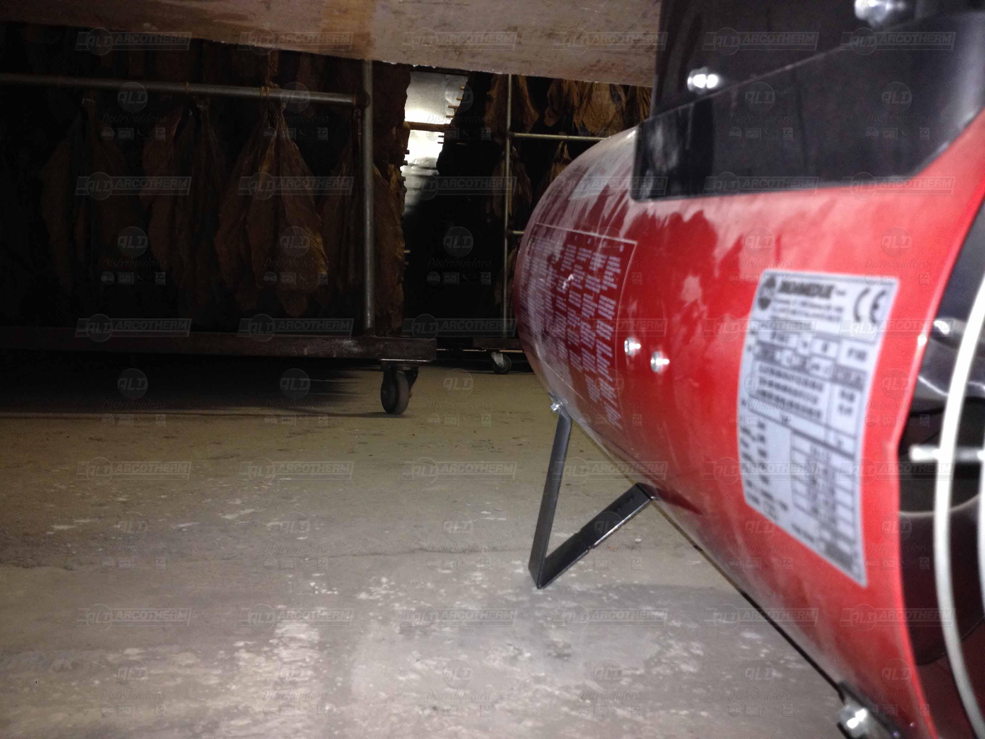 Estufa secagem de fumo - aquecedor - gerador de ar quente - Arcotherm 2