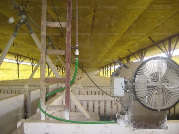 Suinos - galpao recria de leitoes - UPL - aquecedor - gerador de ar quente - arcotherm- 7