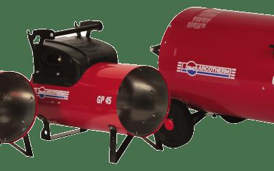 Aquecedores para aviários GP e GA 100C