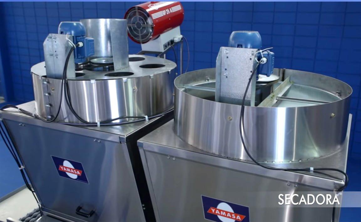 secadora de ovos Yamasa com aquecedor Arcotherm,