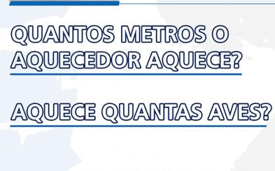 Aquecedores Arcotherm –  Quantos metros aquecem?